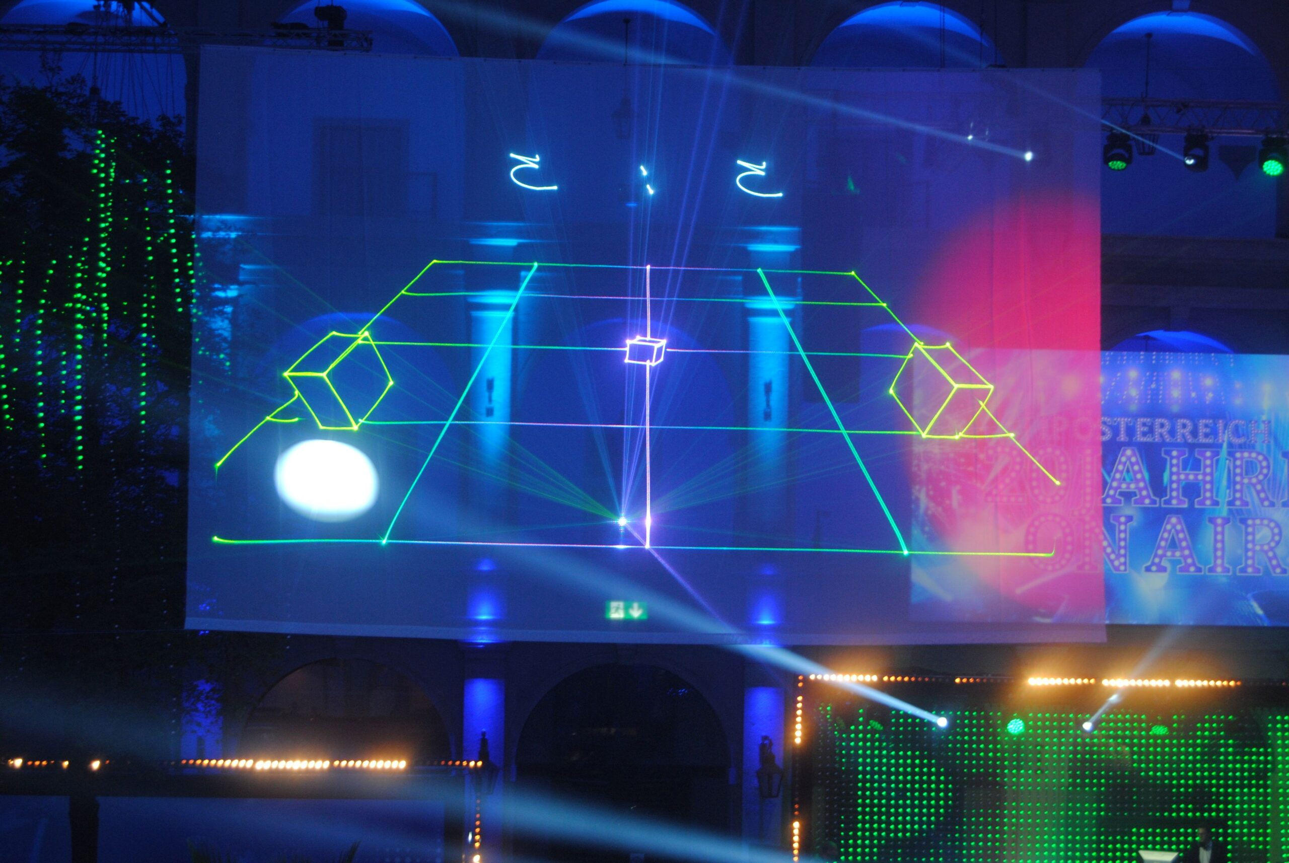 Laser Ping-Pong